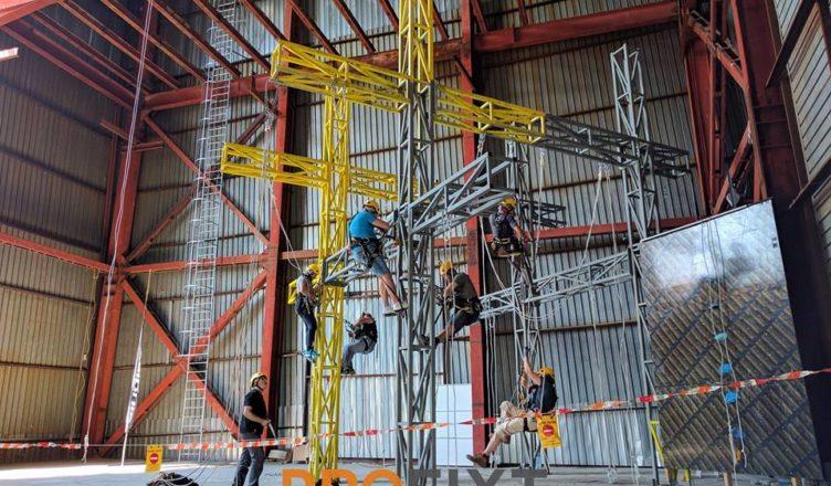 Обучение за индустриален въжен достъп по IRATA - ниво 2