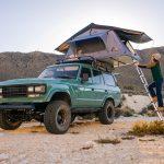 почивка с палатка за кола