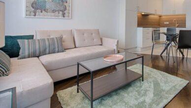 удобен ъглов диван